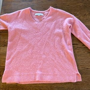 LOFT pink sweater